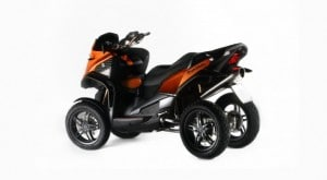 Scooter 4 roues Quadro 4D 2014